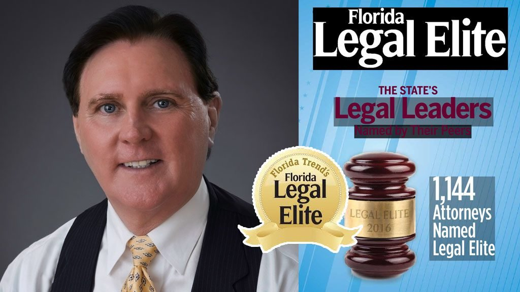 Attorney Bernard Walsh Recognized As A 2018 Florida Legal Elite By Florida Trend's Magazine