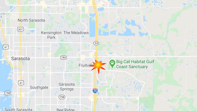 3 Dead In Multi-Vehicle Crash On I-75 Near Fruitville Rd In Sarasota