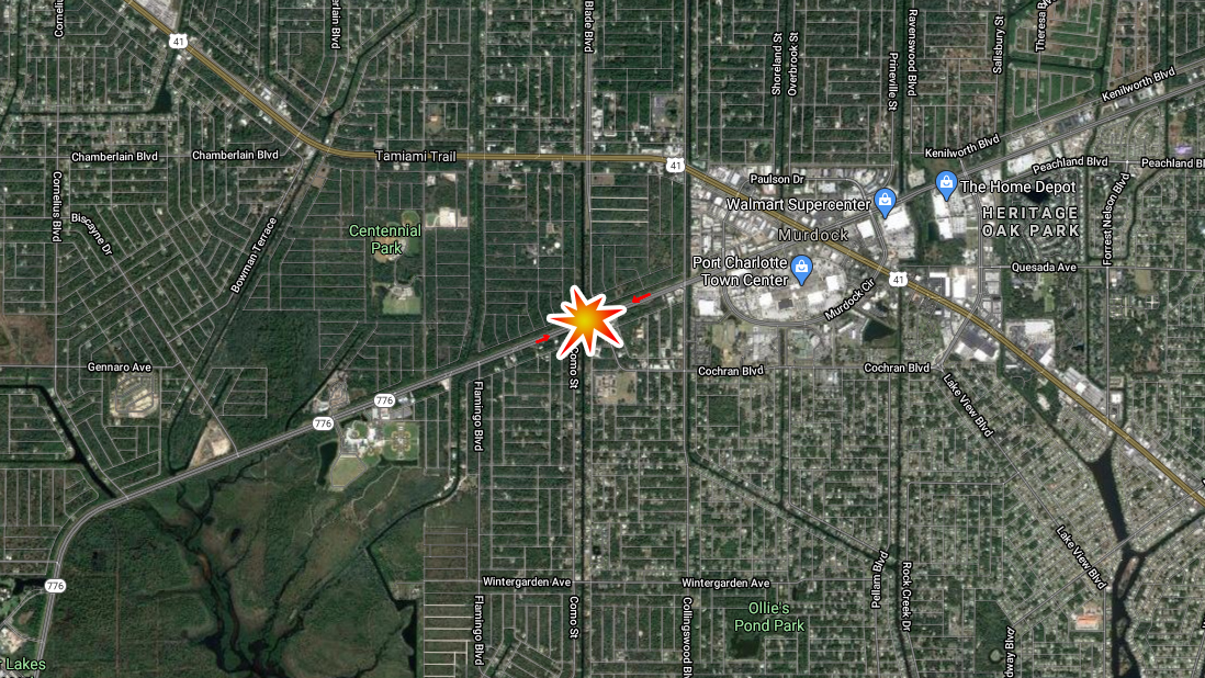 Man Dies In Port Charlotte Crash At 776 And Toledo Blade