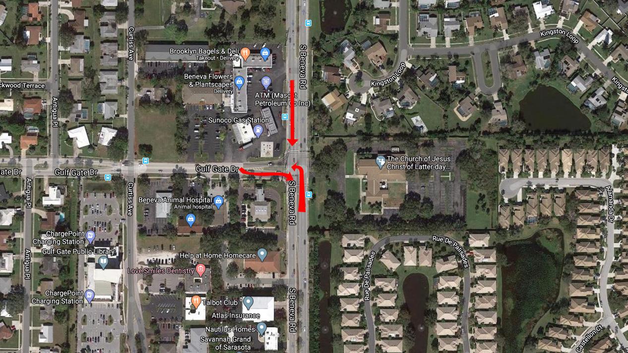 4 Injured In 3 Car Crash Crash On Beneva Rd In Sarasota Saturday