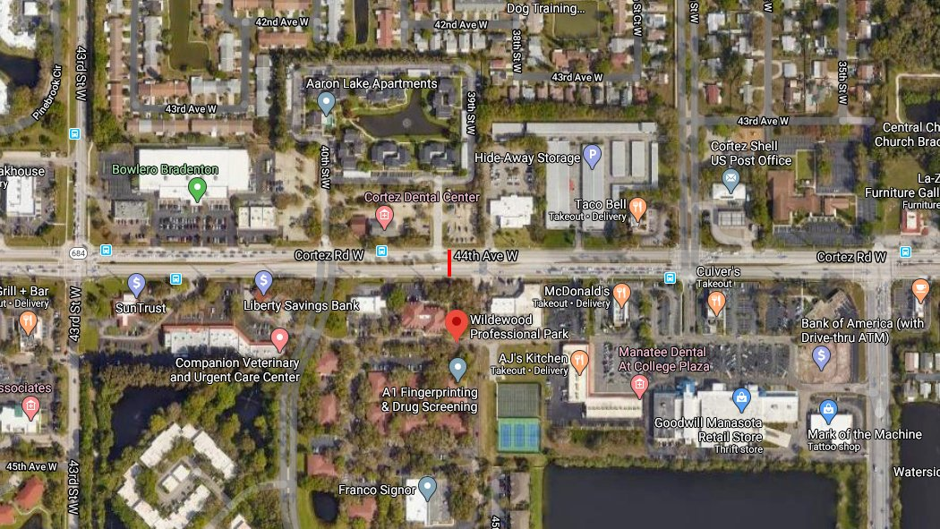 Bradenton Pedestrian Killed After Being Hit On Cortez Road