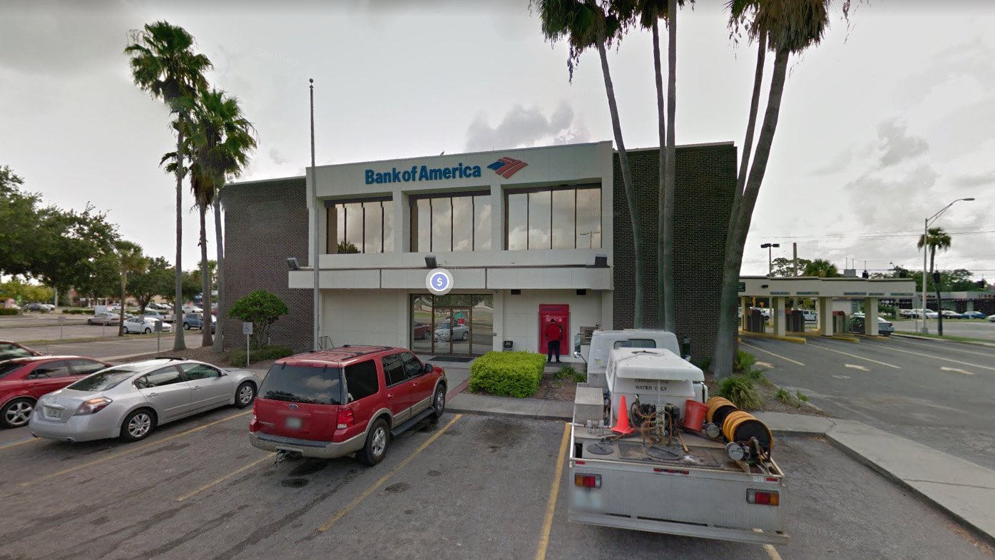 3 Pedestrians Injured After Car Crashes Into Bank Lobby In Bradenton