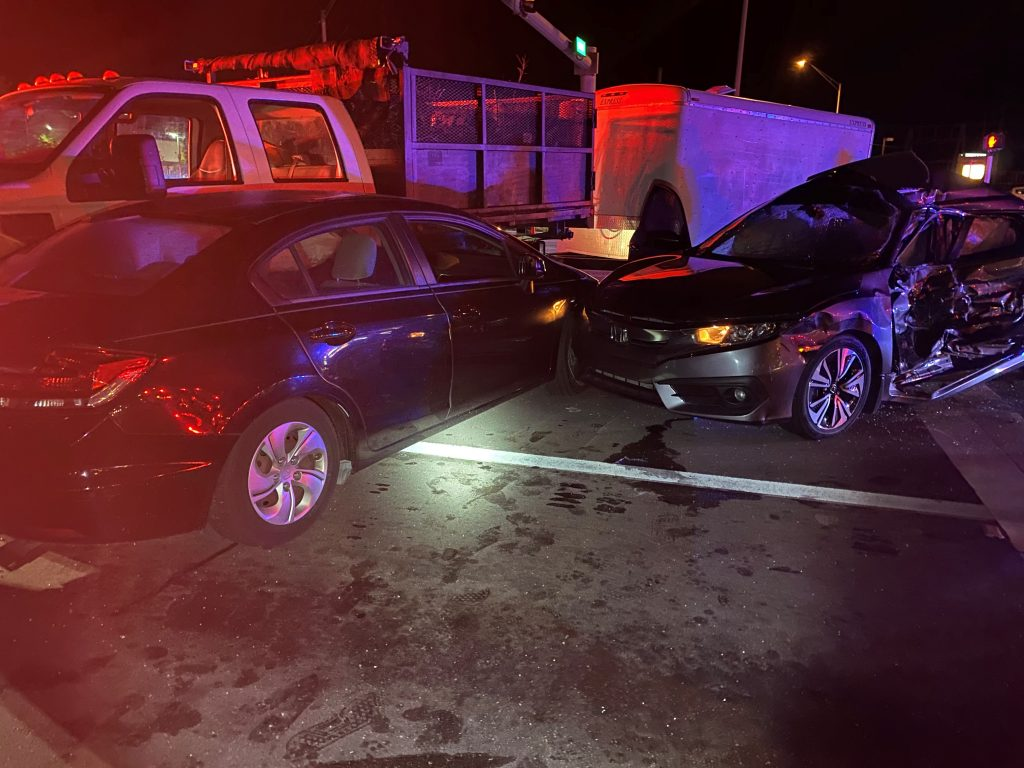 3 People Injured In North Fort Myers Red Light Runner Crash