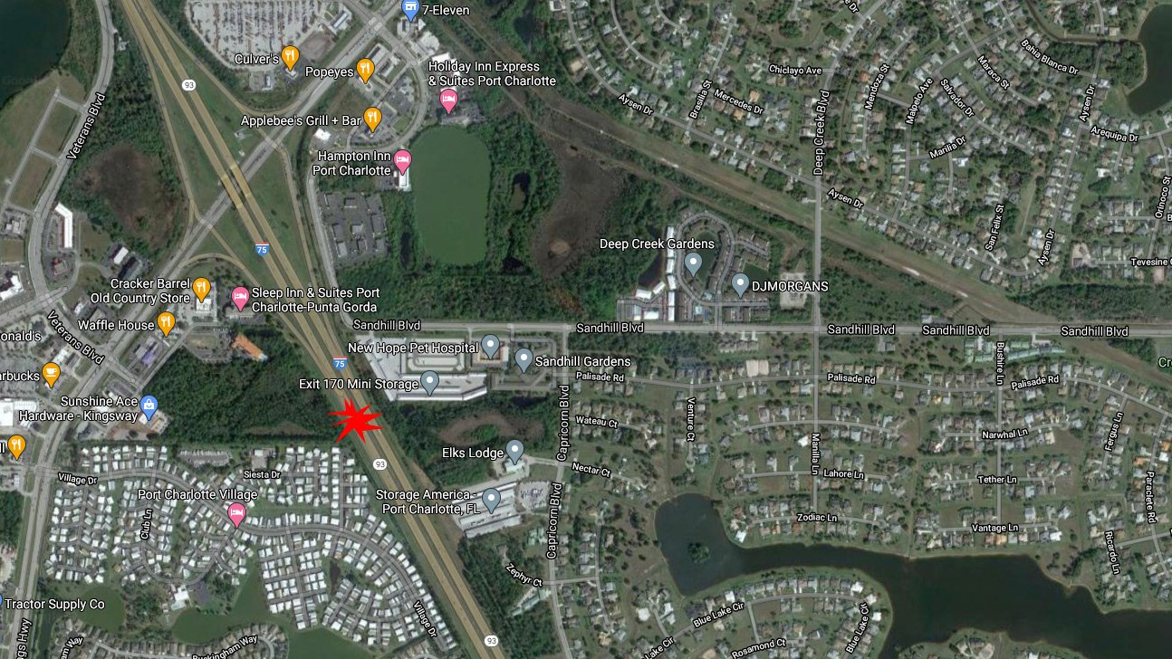 One Dead And Two Injured In I-75 Crash At Kings Highway In Port Charlotte