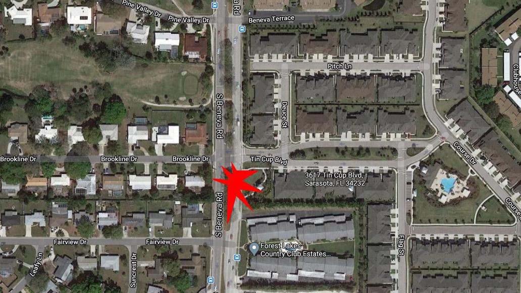 Sarasota Man Dies In Crash On Beneva Road