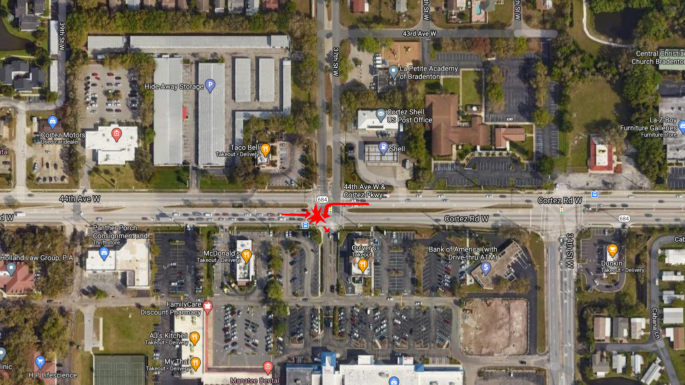 2 Children In Serious Condition After Multi-Vehicle Crash In Bradenton