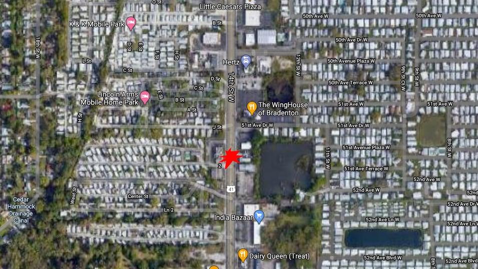 Bradenton Pedestrian Dies From Injuries After Car Strike On US 41