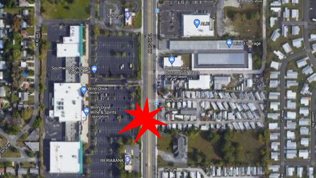 Pedestrian In Bradenton Dies After Being While Crossing US 41