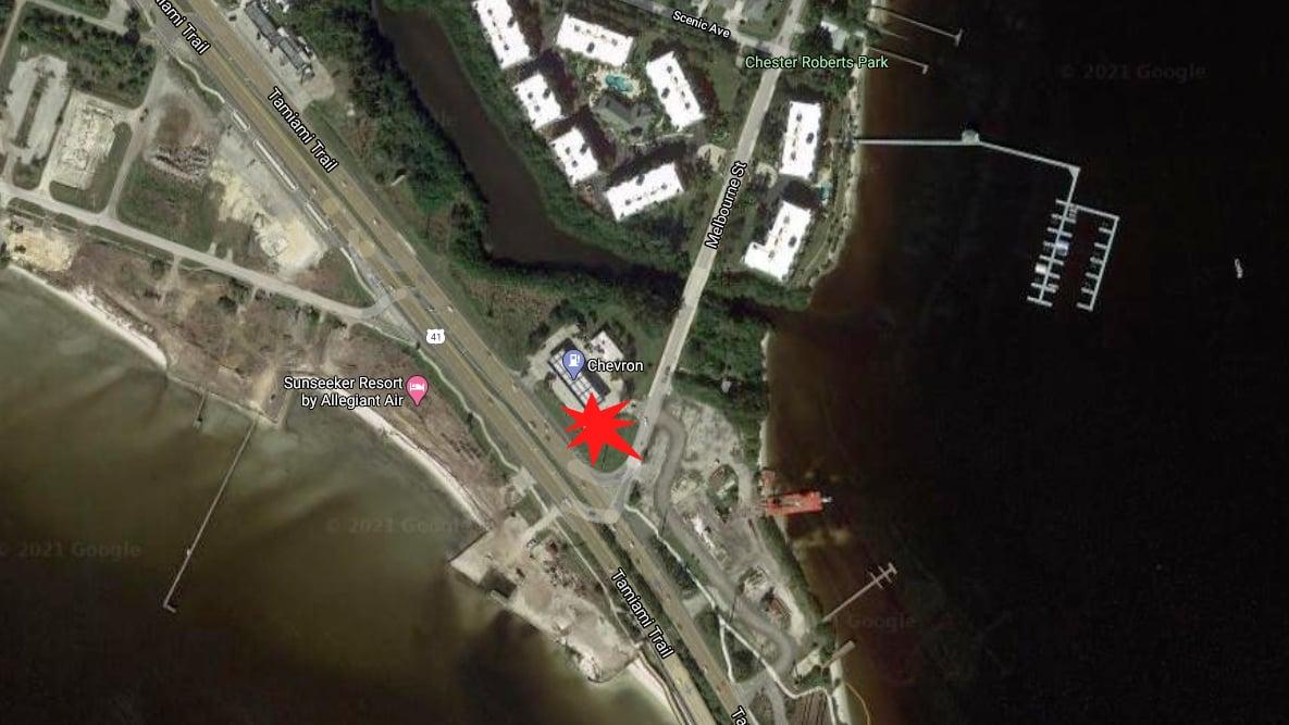 Port Charlotte Man Seriously Injured After Crashing Into Gas Station