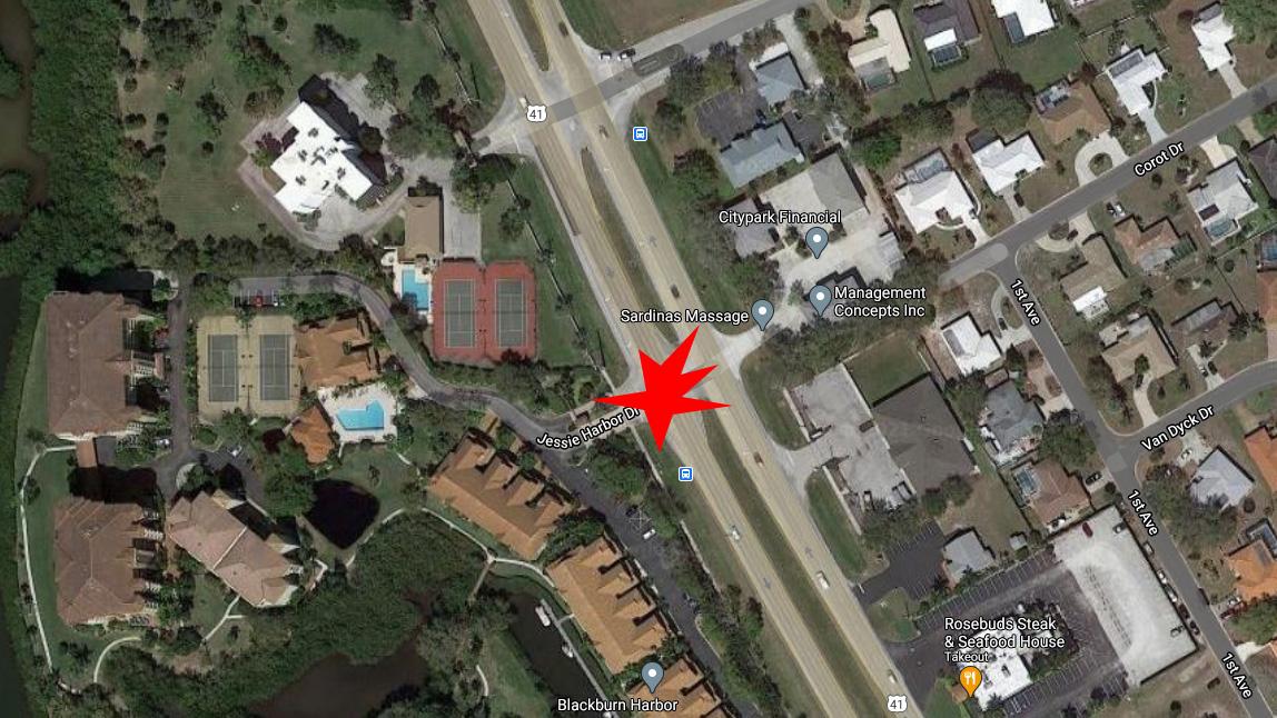 Venice Motorcyclist Killed In Crash On 41 Near Jessie Harbor Dr