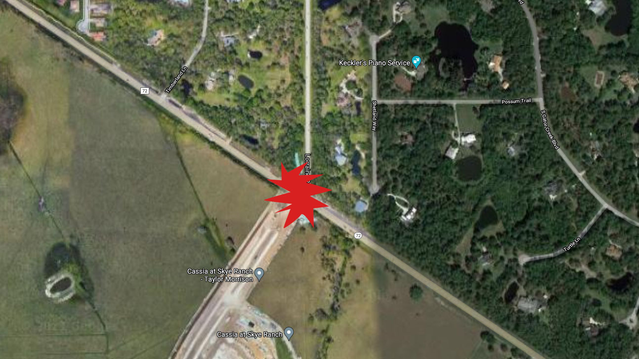 Sarasota Woman In Critical Condition After Crash With Dump Truck On Lorraine Road