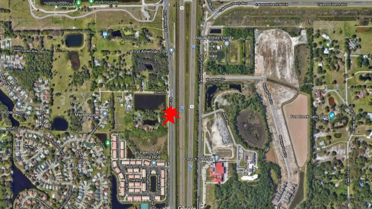 Bradenton Bicyclist In Critical Condition After Hit And Run Crash On Cattlemen Rd In Sarasota