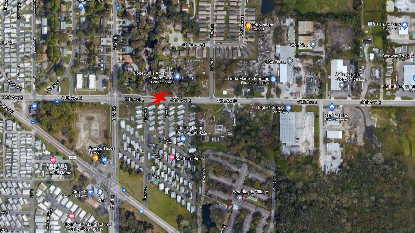 Bicyclist Dies After Being Hit By Pickup Truck On 44th Ave. East In Bradenton