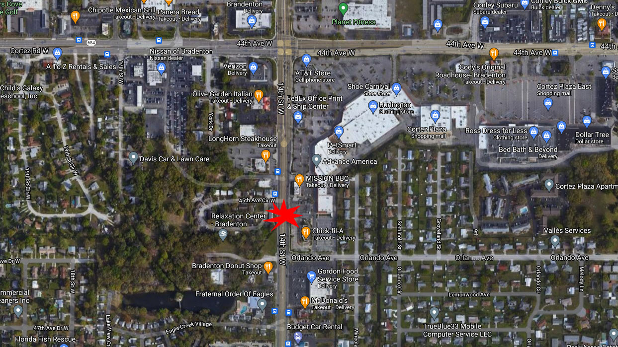 Man From Bradenton Dies After Being Struck By Multiple Vehicles Crossing U.S. 41