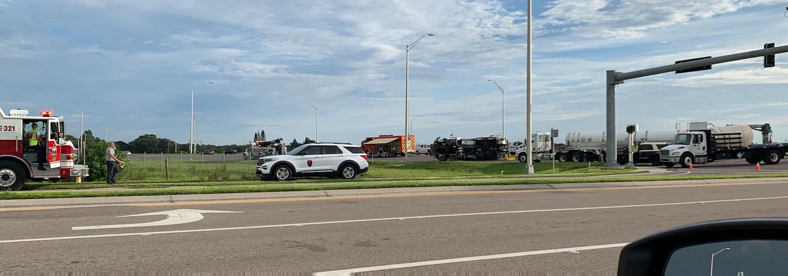 Fatal Crash Closes Traffic On Southbound US 301 In Bradenton
