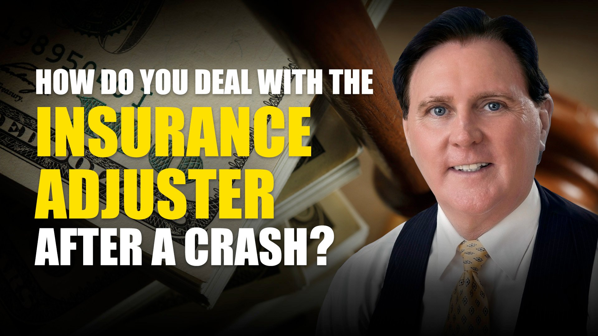 How Do You Deal With The Insurance Adjuster After A Crash?